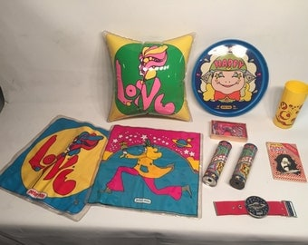 1970s Peter Max Pop Art Collection