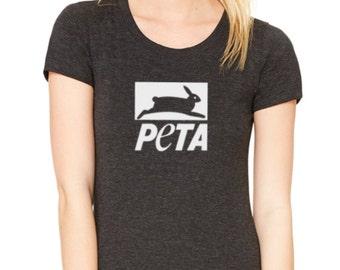 PETA Animal Rights volunteer ladies t-shirt
