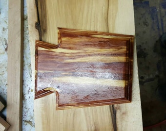Solid Cedar Keystone Plaque