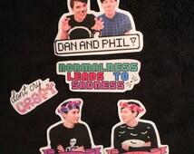 Dan and Phil Sticker Set!