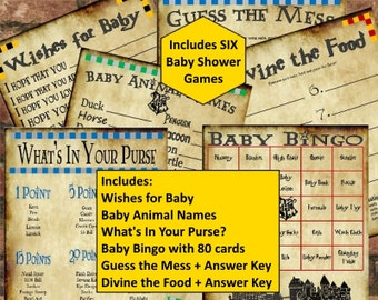 Harry Potter Deluxe Baby Shower Game Set