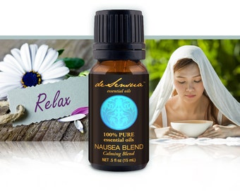 NAUSEA Essential Oil Blend – 100% Pure Essential Oils - Helps Soothe Your Stomach and Mind!