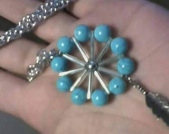 Circled in turquoise