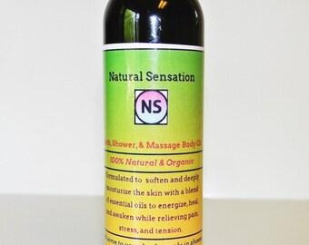 Organic Massage & Bath Oil
