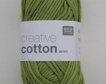 Rico Creative Cotton Aran Pistachio 041