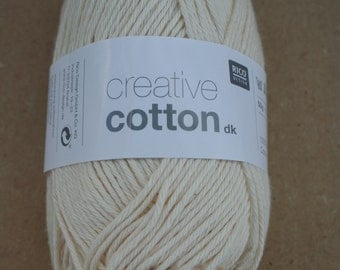 Rico Creative Cotton DK Natural 002