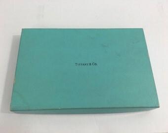 Tiffany and Co. Brdige Card Set, in Original Box & Packaging, Art Deco/Vintage