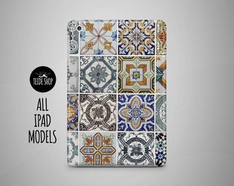 Azulejo Tiles iPad Case Portugal Morocco iPad Mini Case iPad Mini Cover iPad Cover iPad Air Case iPad Sleeve Birthday Gift Idea iPad Case