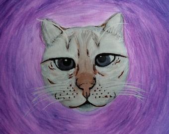 """Watercolor Pet Portrait 8""""x10"""""""