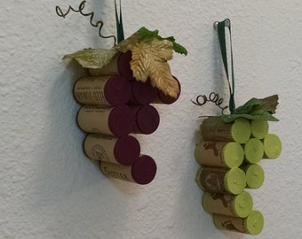 Cork Grape Clusters