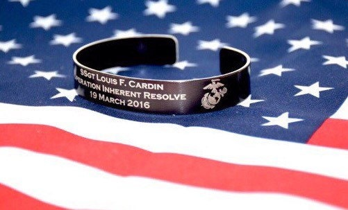 kia bracelet memorial bracelet honor the fallen pow 9352