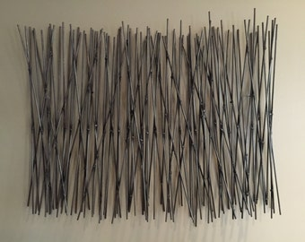 """Wall Sculpture """"Bamboo Thicket"""""""