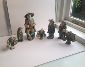 Collection of Chinese figures
