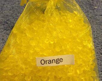 Orange scented aroma beads