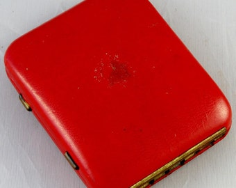 Retro Red Key Wallet