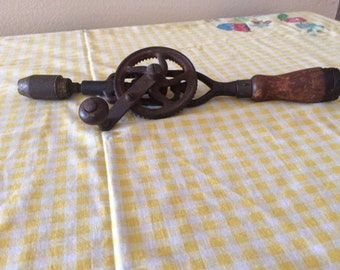 Vintage Craftsman Hand Drill Eggbeater style