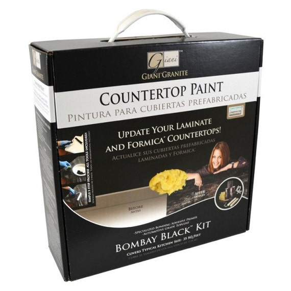 Countertop Paint Kit : Giani Bombay Black Countertop Paint Kit