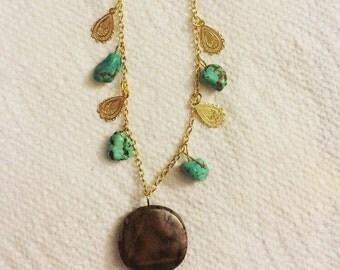 brownstone turquoise