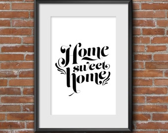 Home Sweet Home Customized Printable