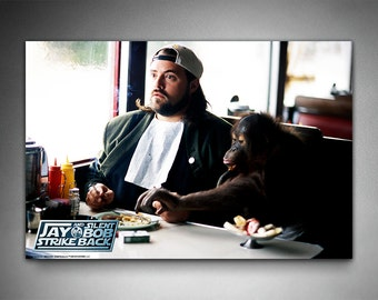 "Jay and Silent Bob Strike Back Poster, ""Silent Bob"", Officially Licensed, Kevin Smith, Movie Poster"