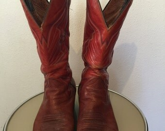 Vintage Mens Western boots