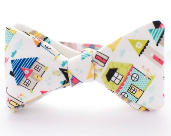 BOW TIE | baby, toddler, & boys | self-tie | cute home design