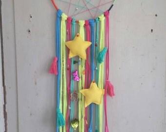 Dreamcatcher Star! Colorful dream catcher for children's rooms