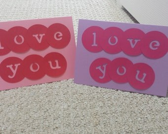 LOVE YOU - Blank Card (5x7)