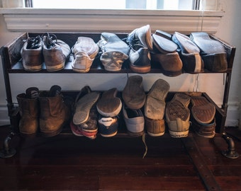 Piping Shoe Rack