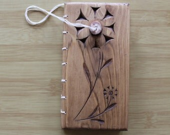 Wooden Handmade Notebook