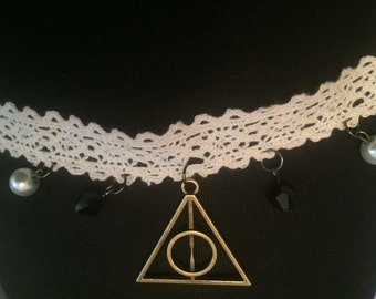 Harry Potter Deathly Hallows Choker