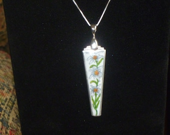 antique silverware jewelry necklace