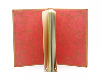 Small notebook natural leather
