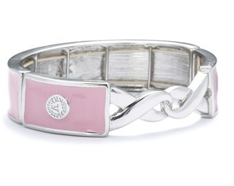 "Anne Klein ""Pretty in Pink"" Cancer Awareness Bracelet"
