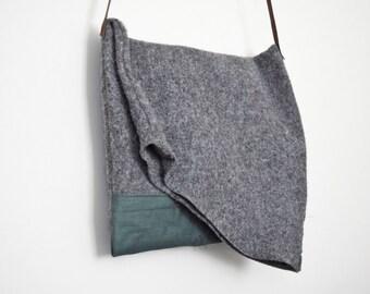 Handmade Fold Over Bag