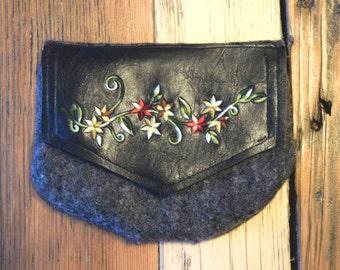 Flower Detail Pouch