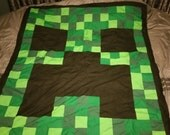 MADE TO ORDER - Minecraft Quilt or Blanket