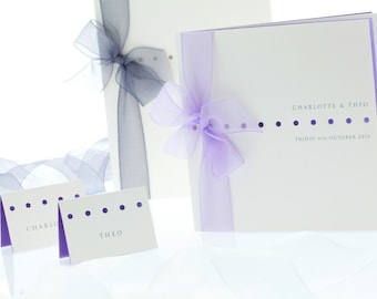 Bow Belle wedding invitation