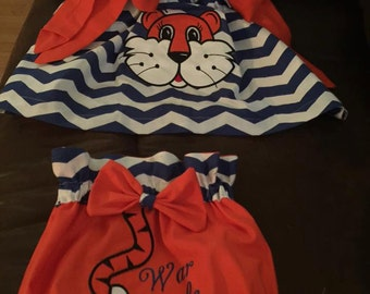 auburn tiger outfit