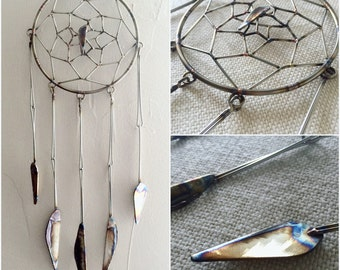 Handmade/Welded Stainless Steel Dream Catcher