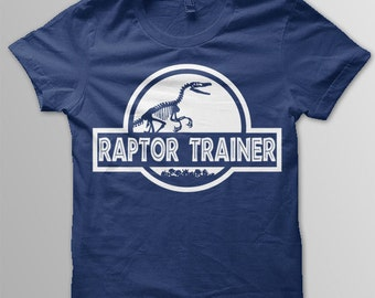 Jurassic World shirt kids Raptor Trainer shirt toddler Jurassic World t-shirt