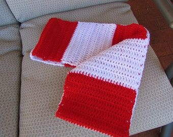 Handmade Crochet Team Supporters Cowl