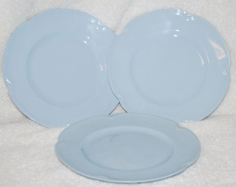 "Johnson Brothers ""Greydawn"" Luncheon Plates--set of 3"