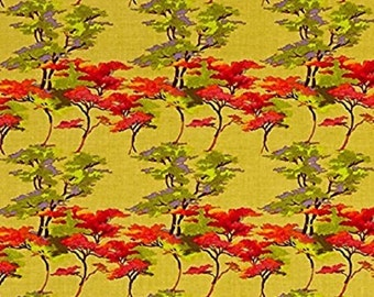 "Nel Whatmore ""Orient""  Acer Sunset   for Westminster Fabrics   Cotton"