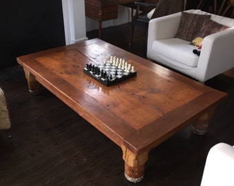 Custom coffee tables to order.