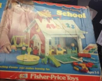 The Fischer Price school house