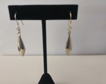 Sterling dangle earring