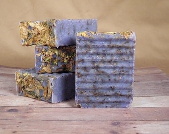 All Natural, Country Lilac, Cold Process Soap