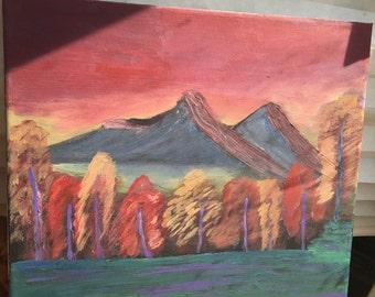Multicolor Landscape