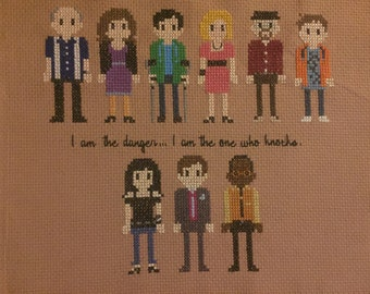 Breaking Bad Cross Stitch